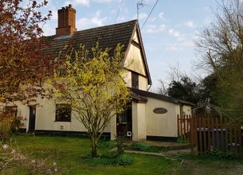 Thumbnail 3 bedroom cottage to rent in Bildeston Road, Wattisham, Ipswich