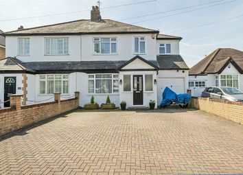 Thumbnail 4 bed semi-detached house for sale in Chessington Road, West Ewell, Epsom