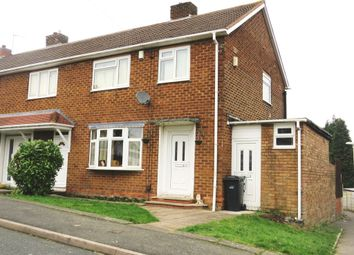 Thumbnail 3 bedroom end terrace house for sale in Pine Green, Dudley