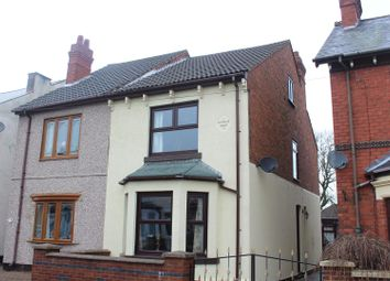 Thumbnail 3 bed semi-detached house for sale in Hartley Road, Kirkby-In-Ashfield, Nottingham