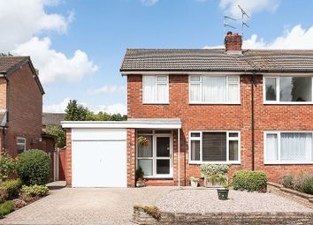 Thumbnail 3 bed semi-detached house for sale in Grosvenor Road, Congleton