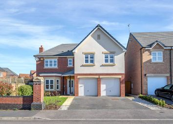 Thumbnail 5 bed detached house for sale in Garfield Park, Great Glen, Leicester