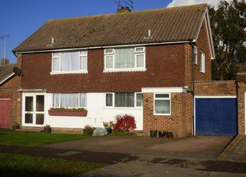 Thumbnail 3 bed semi-detached house for sale in Highdown Drive, Littlehampton