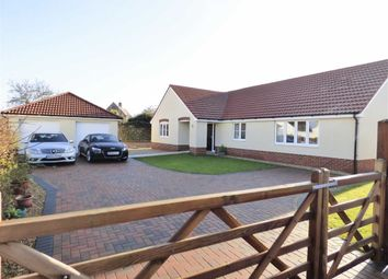 Thumbnail 3 bed detached bungalow for sale in Lower Road, Woolavington, Bridgwater