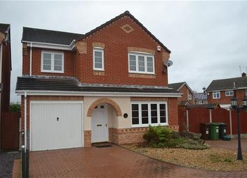 Thumbnail 4 bed detached house to rent in Smallshire Close, Wednesfield, Wolverhampton