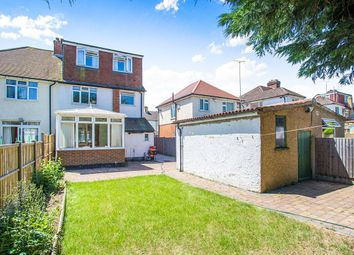 Thumbnail 5 bed semi-detached house for sale in Purbrock Avenue, Watford