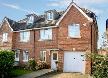 Thumbnail 4 bed semi-detached house for sale in Cranbourne Close, Hersham, Walton-On-Thames