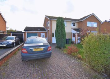 Thumbnail 3 bed semi-detached house for sale in Strine Close, Wellington, Telford