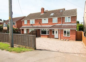 Thumbnail 5 bedroom semi-detached house for sale in Station Road, Burwell