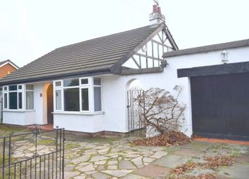 Thumbnail 4 bedroom detached bungalow for sale in Saughall Road, Blacon, Chester