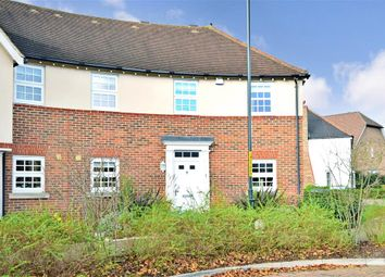 Thumbnail 3 bed end terrace house for sale in Amber Lane, West Malling, Kent