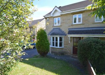 Thumbnail 3 bed semi-detached house for sale in Park Avenue, Shelley, Huddersfield, West Yorkshire