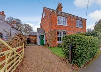 Thumbnail 3 bed semi-detached house for sale in Rowtown, Addlestone