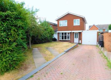Thumbnail 3 bed detached house for sale in Saxon Road, Penkridge, Stafford