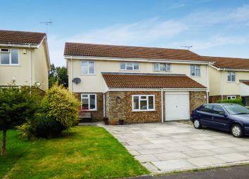 Thumbnail 4 bedroom semi-detached house for sale in Woburn Close, Trowbridge
