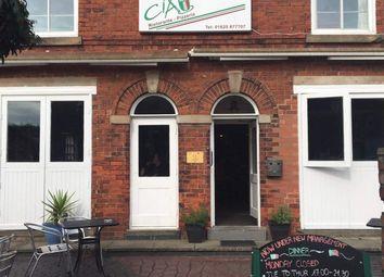 Thumbnail Restaurant/cafe for sale in Park Lane, Poynton, Stockport