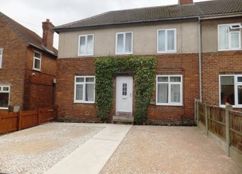 Thumbnail 1 bed semi-detached house to rent in Appleton Road, Blidworth, Mansfield