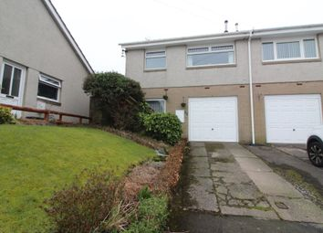 Thumbnail 3 bed semi-detached house for sale in Rhiw Farm Crescent, Crumlin, Newport