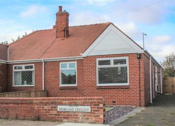 Thumbnail 2 bed bungalow for sale in Moorland Crescent, Bedlington Station, Bedlington
