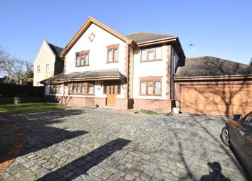 Thumbnail 5 bed detached house to rent in Lee Chapel Lane, Basildon