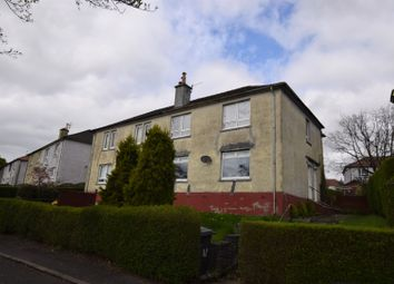 Thumbnail 1 bed flat for sale in Alder Road, Clydebank