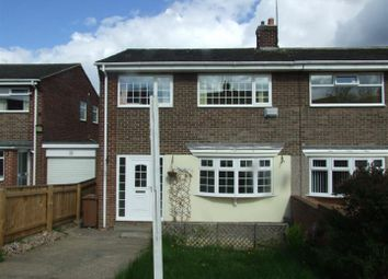 Thumbnail 3 bed semi-detached house to rent in Alder Close, Hetton-Le-Hole, Houghton Le Spring