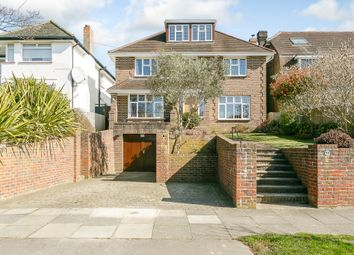 Thumbnail 5 bedroom detached house for sale in Shirley Drive, Hove
