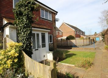 Thumbnail 2 bed end terrace house to rent in The Willows, Horsham Road, Findon, Worthing