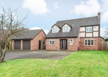Thumbnail 4 bed detached house for sale in Monkland, Leominster