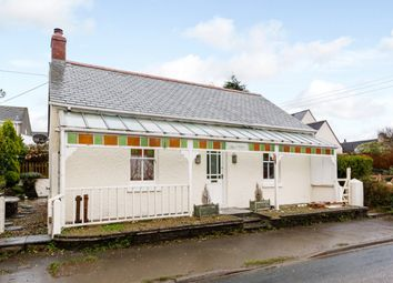Thumbnail 3 bed detached bungalow for sale in East Taphouse, Liskeard, Cornwall