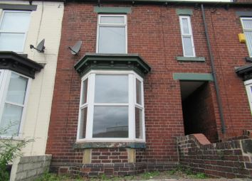 Thumbnail 4 bed terraced house to rent in Edmund Road, Sheffield