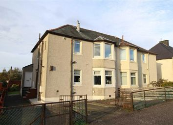 Thumbnail 2 bed flat for sale in Dunlop Street, Greenock