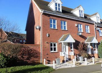 Thumbnail 3 bed end terrace house for sale in Farnborough Drive, Daventry