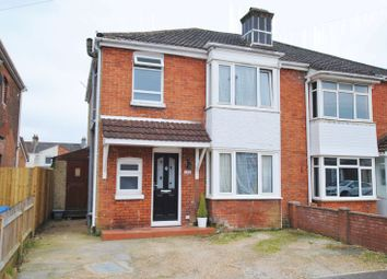 Thumbnail 3 bed semi-detached house for sale in Manor Road North, Southampton