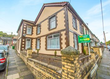Thumbnail 3 bed end terrace house for sale in Glynmynach Street, Ynysybwl, Pontypridd