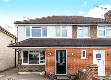 Thumbnail 5 bed semi-detached house for sale in Selwood Road, Woking, Surrey