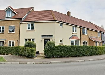 Thumbnail 3 bed terraced house for sale in Summers Hill Drive, Papworth Everard, Cambridge