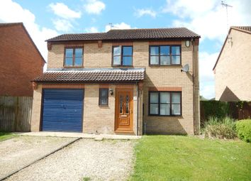 Thumbnail 3 bed detached house for sale in Bede Road, Baston, Peterborough