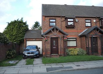 Thumbnail 3 bed town house for sale in Sherwood Court, Croxteth Park, Liverpool