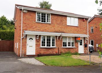 Thumbnail 2 bedroom semi-detached house for sale in Oleander Close, The Rock Telford