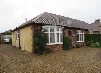 Thumbnail 3 bed semi-detached bungalow for sale in Overbury Road, Hellesdon, Norwich