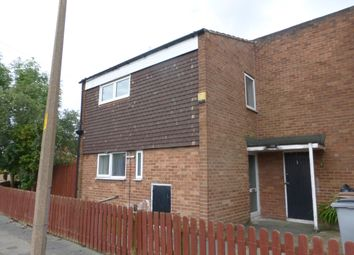 Thumbnail 3 bed end terrace house to rent in Doulton Close, Prenton
