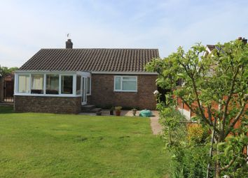 Thumbnail 3 bed detached bungalow for sale in Hog Lane, Ilketshall St. Lawrence, Beccles, Suffolk