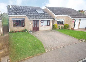 Thumbnail 4 bed detached bungalow for sale in Stonepit Drive, Cottingham, Market Harborough