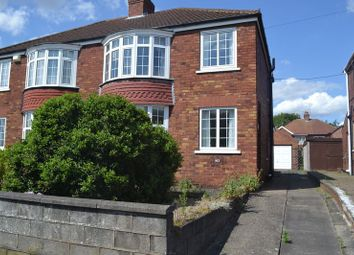 Thumbnail 3 bed semi-detached house to rent in Newland Drive, Scunthorpe