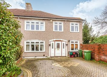 Thumbnail 4 bed semi-detached house for sale in Ashbourne Avenue, Bexleyheath