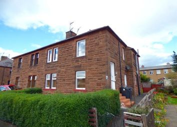 Thumbnail 2 bed flat for sale in Crathie Avenue, Dumfries, Dumfries And Galloway