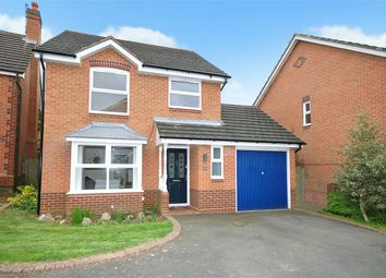 Thumbnail 3 bed detached house for sale in Stourhead Drive, East Hunsbury, Northampton