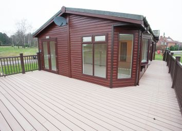 Thumbnail 3 bed mobile/park home for sale in Bothamsall, Retford