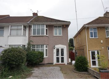 Thumbnail 3 bed semi-detached house for sale in New Fosseway Road, Hengrove